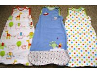 Baby Grobags - 0-6months, 6-18m, 18m-36m and 18m-4 years.