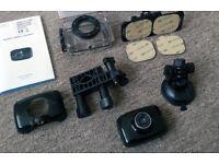 720p sport camera @ new with accessories:waterproof,bike,car,helmet