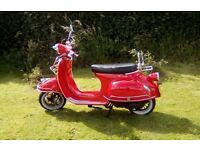 AJS Modena Scooter 125cc £975.00 ono