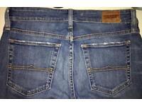 Designer Ralph Lauren denim jeans