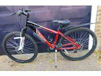 Boys Apollo Red Bicycle