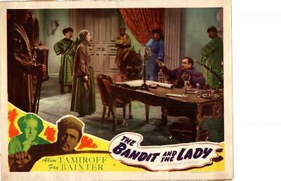 Bandit and the Lady 1945 Re-Release Lobby Card Fay Bainter