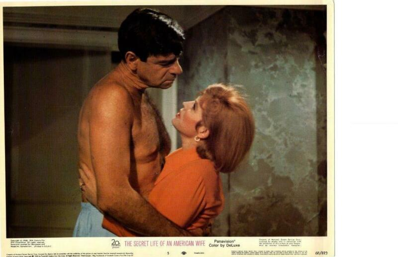 Secret Life Of An American Wife 1968 Original Release Lobby Card Angie Dickenson