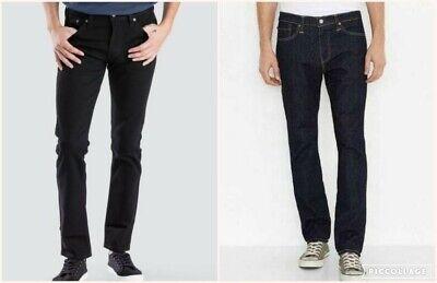 Men Levi 511 Slim Fit Denim Levis 100% Original Jeans 00511-1907 & 2499