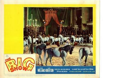 The Big Show 1961 Original Release Lobby Card Circus Cliff Robertson +