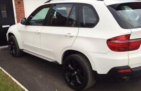 BMW X5 matte white 3.0 (not Mercedes. Audi. Ford.)