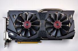 ASUS STRIX NVIDIA GeForce GTX 970 4GB OC Gaming Graphics Card