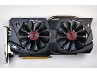 ASUS STRIX NVIDIA GeForce GTX 970 4GB OC Gaming Graphics Card