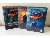THE DARK KNIGHT AND BATMAN BEGINS DVD SET IN SLIPCASE