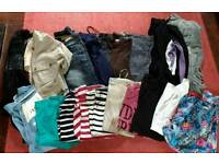 Bundle of womens clothes size 12 good condition.