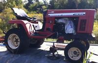 YANMAR 14HP DIESEL MOWER,TRACTOR,3-POINT HITCH,PTO,ELECTRIC LIFT