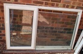 Older Style Double Glazed Window