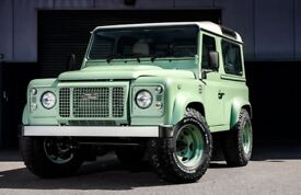 LAND ROVER DEFENDER FOREST ARCHES BODYKIT
