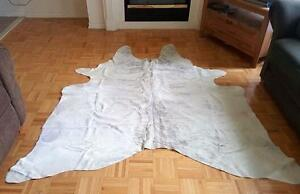 Cowhide Rugs Brazilian Cow Skin Rug Handpicked, Natural, Unique Cow hide Rug Canada