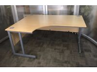 Abacus Radial Cantilever Office/Home Workstation - FREE DELIVERY & FREE ASSEMBLING
