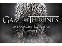 Game of thrones concert tickets. 11th June at Glasgow Hydro. Level 2 seating. X2 tickets