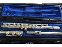 1206 Selmer Silver Plated Flute
