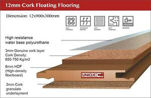 cork eliminates vibrations, install cork flooring reduce body aches