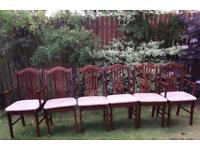 6 x Wooden Chairs