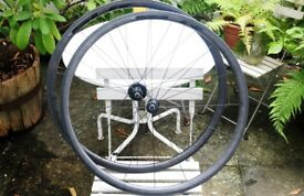 Giant SLR1 Carbon Clincher Wheelset Shimano 11sp Tubeless Ready RRP£950 1425g!