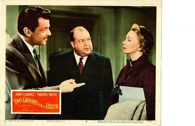 Two Grooms For A Bride 1957 Original Release Lobby Card Virginia Carroll
