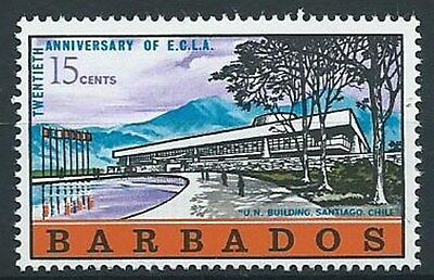 STAMPS BARBADOS SG 371 20TH. ANNIV. OF ECONOMIC COMMISSION FOR LATIN AMERICA MNH