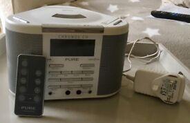 Pure Digital Chronos radio CD player