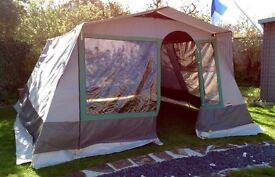 Cabanon family-size frame tent for sale