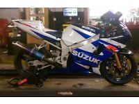 Suzuki gsxr 600 2001