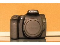 Canon 70D mint condition BOXED,BODY ONLY !! BRISTOL