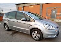 FORD SMAX ZTECH 1.8 TDCI 2007 DIESEL ONLY 84000 MILEAGE FULL SERVICE HISTORY 7 SEATER 6 SPEED £3190