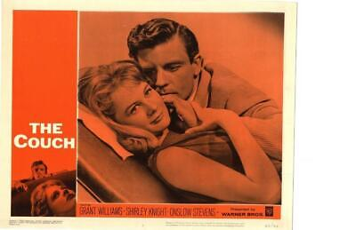 The Couch 1962 Original Release Lobby Card Shirley Knight