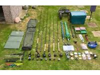 Huge Collection of Fishing Tackle
