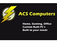 ACS Computers - Custom Built PC Desktops - Office PC's - Gaming PC's - Home PC's