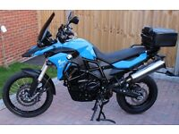 BMW F800GS with FSH and lots of extras