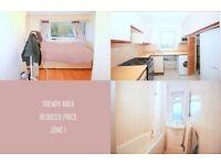 Bright Double Room in Shoreditch area