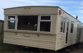 Cosalt Torino static caravan- 35ft by 12ft, 3 bedroom, 8 berth, DG, GCH - reduced for quick sale