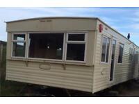 Cosalt Torino Super warm static caravan- 35ft by 12ft, 3 bedroom, 8 berth, DG, GCH