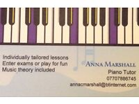 Piano lessons, experienced teacher. In your own home, East Belfast.
