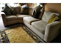 Corner sofa 5 seater.Furniture village