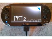 "Sony PS Vita ""Kiosk"" Model 'PCH-1004' & PC Charge Cable (part boxed)"