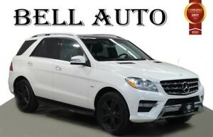 2012 Mercedes-Benz M-Class ML 350 BLUETEC AMG PREMIUM+SPORT PKG