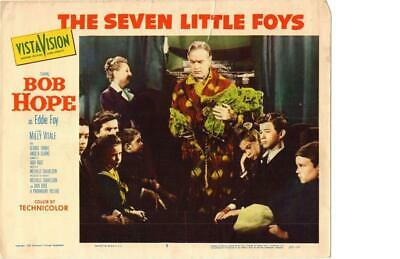 The Seven Little Foys 1955 Original Release Lobby Card Bob Hope