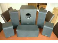 Denon 5.1 surround sound speakers