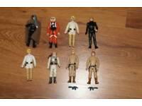 Luke Skywalker Star Wars figures 1977-85