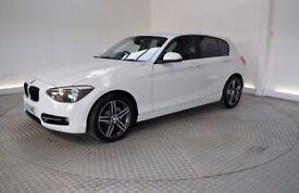 ** White BMW 120D Sport Auto ** Low Mileage **