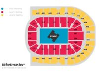 METALLICA O2 Arena Tue 24th lower tier bk 110 EXCELLENT sold out!!