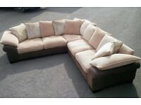 Free local delivery/ Large DFS CORNER SOFA /VGC