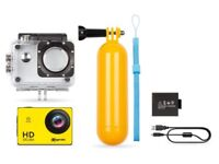 """Exagerate Skuba xcam - Camcorder Sports Action Cam HD Ready display 2"""""""