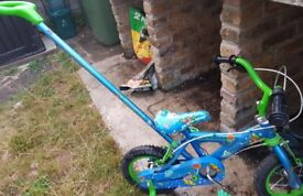 kids bicycle reduced to £15
